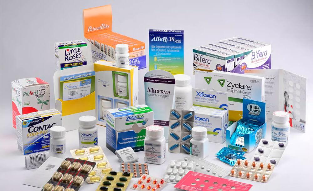 Этикетка для медицинских препаратов