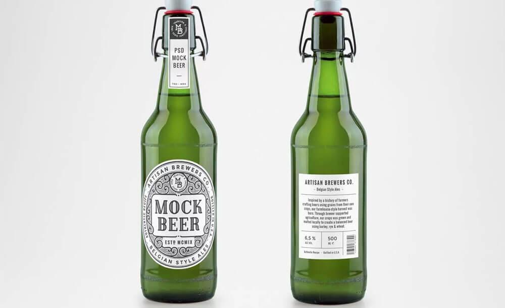 Оригинальные наклейки на пиво