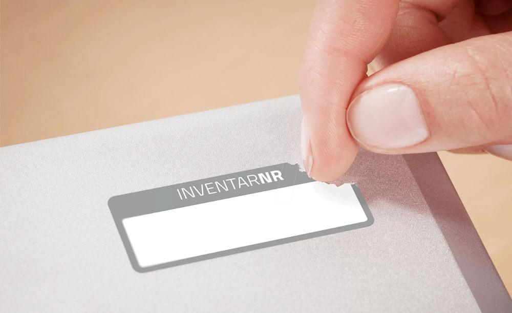 Печать защитных этикеток
