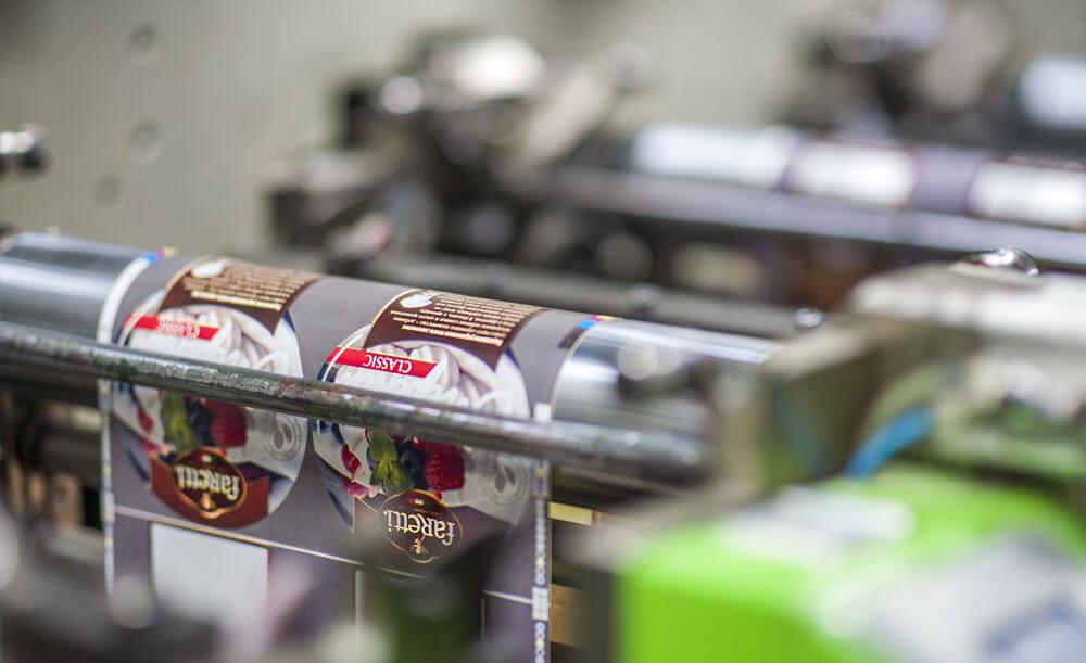 Производство этикеток на флексомашине