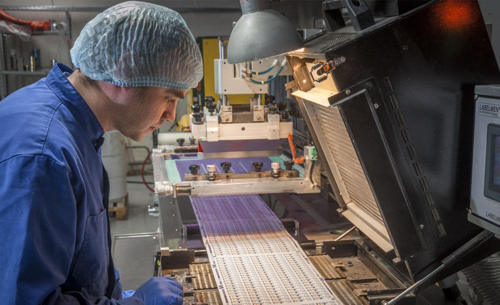 Процесс печати на флексографическом оборудовании
