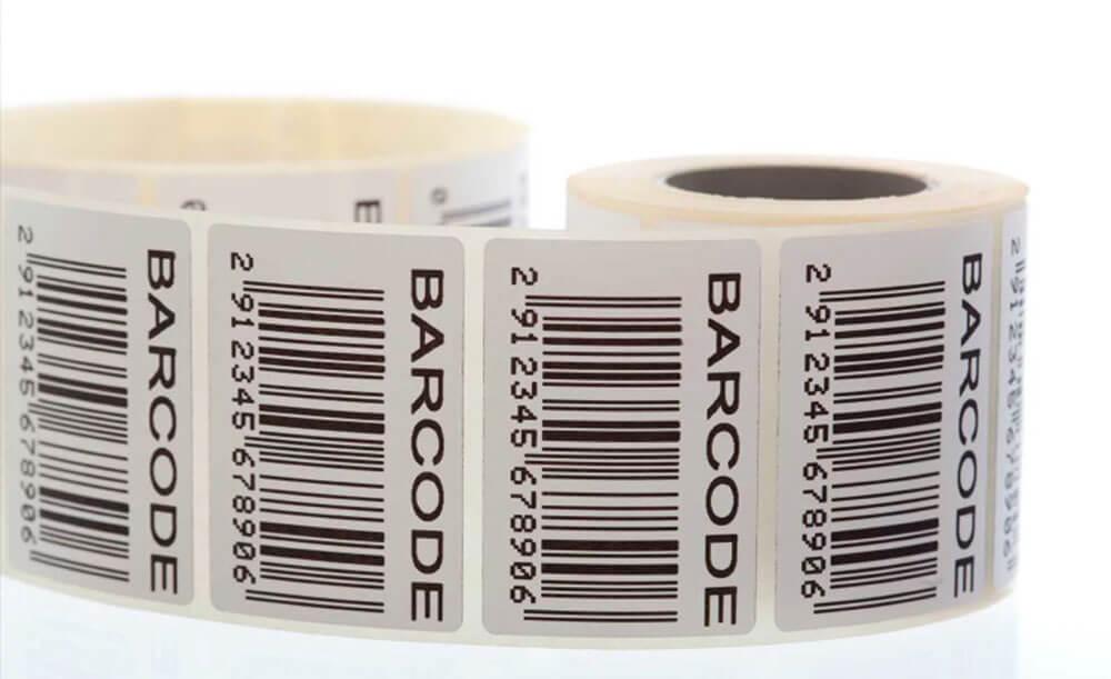 Штрих код на этикетках