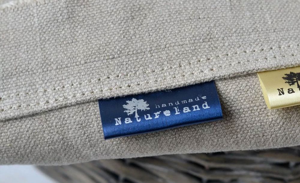 Тканевые этикетки с логотипом