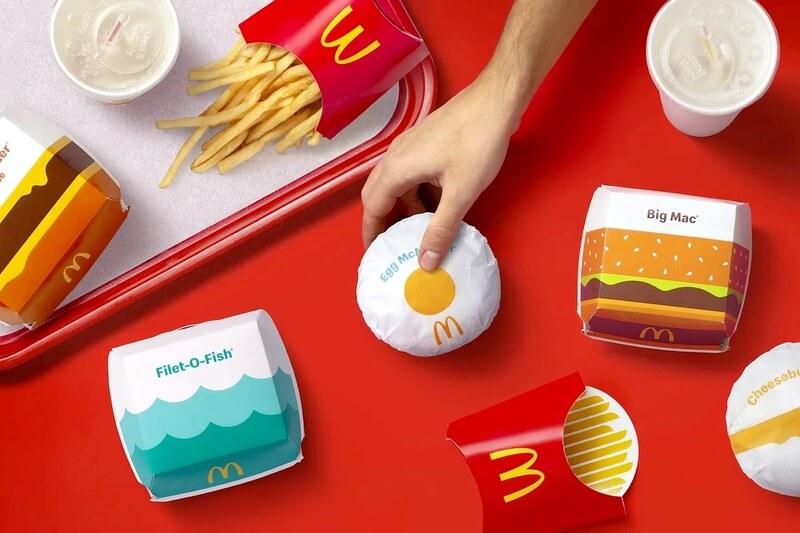 Что стоит за обновлением упаковок McDonald's