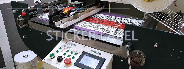 Sticker label - производство этикеток