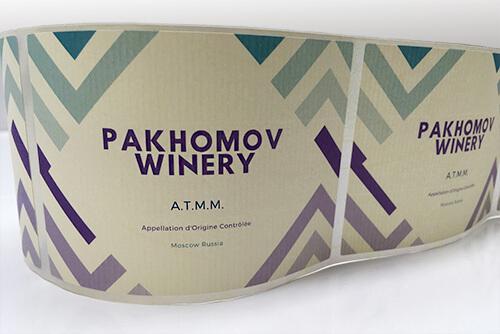 Оригинальные наклейки на вино
